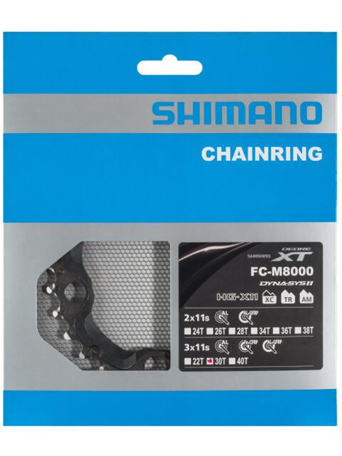 Shimano Deore XT FC-M8000 Chainring 3-fold black